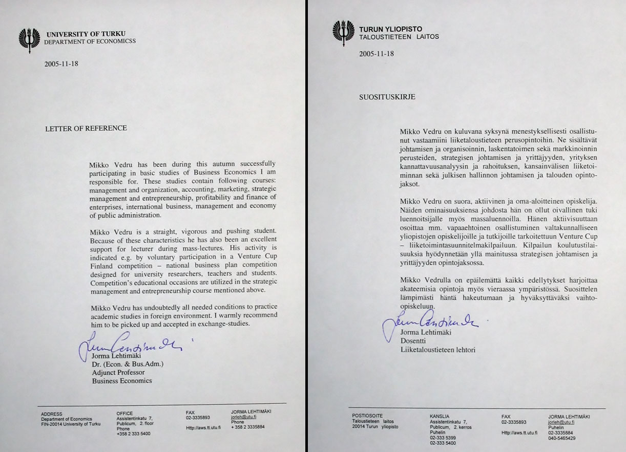 Recommendation Letter Example For Student from koti.kapsi.fi